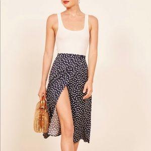 Reformation Betty Midi Skirt